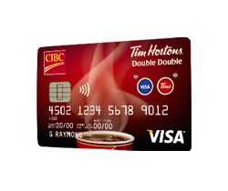 Tim Hortons Double Double Visa Credit Card Review from CIBC